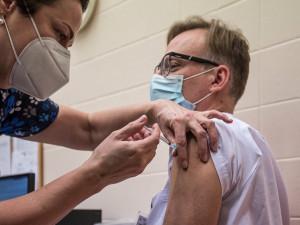 Očkování na jihu Čech zatím podstoupilo asi 25 tisíc lidí
