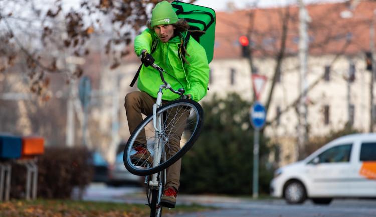 (NE)OBYČEJNÍ: Za jeden pracovní den najezdí Filip Ryba na kole až 80 kilometrů. Přejet Ameriku byl trochu šílený nápad, říká