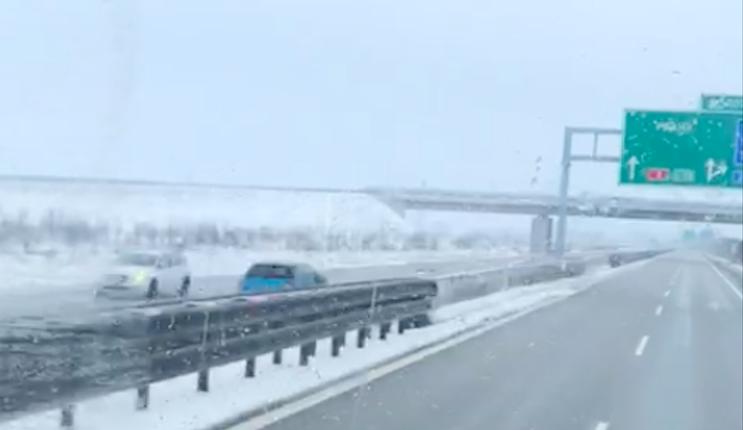 Řidič se na dálnici D3 otočil do protisměru. Ujel téměř 20 kilometrů