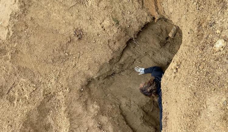 Policejní psovod dopadl kopáče vltavínů přímo při činu