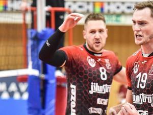 Jihostroj porazil Odolku znovu 3:0 a postupuje do semifinále