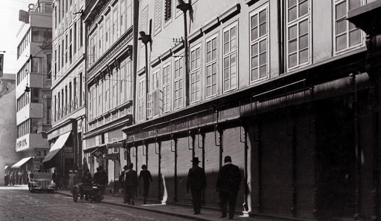 DRBNA HISTORIČKA: Brandnerův dům v Divadelní