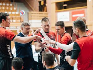 Trenér Jihostroje Dvořák: Nečekal jsem, že postoupíme do semifinále bez ztráty setu