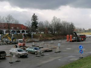 Na náplavce vzniká nové přístaviště. Cyklostezka bude bez omezení