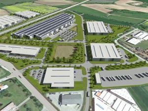 Na okraji Budějc začala výstavba rozsáhlého technologického parku