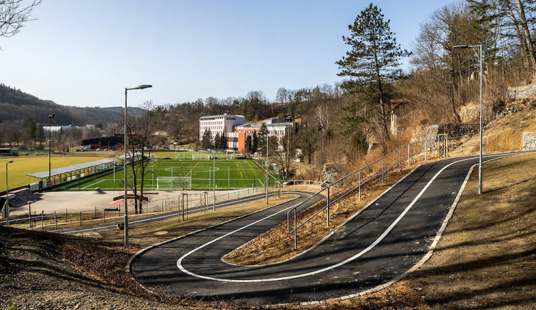 Krumlov postavil za 32 milionů tříkilometrovou cyklostezku