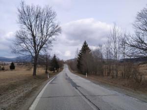 V týdnu začne oprava silnice u Volar. Úsek se rozšíří