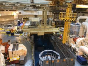 V Temelíně vyvezli z reaktoru jaderné palivo. Pokračují kontroly bezpečnostních systémů