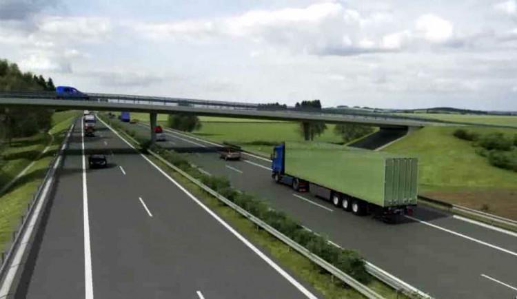 V druhé polovině roku by měla začít stavba dálnice do Kaplice. Nejnižší nabídku podal Metrostav