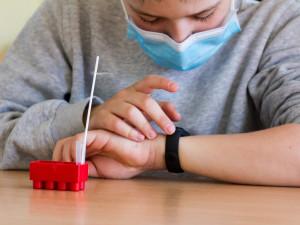 Testování jihočeských školáků zatím nevykazuje pozitivní případy