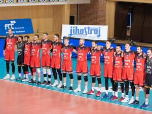 Volejbalisté Českých Budějovic porazili Karlovarsko a finále rozhodne pátý zápas