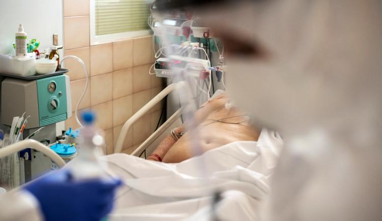 Počet pacientů s covidem v jihočeských nemocnicích klesl na 319