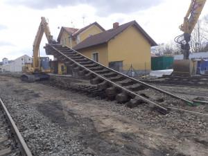Železniční stanice ve Volyni prochází rekonstrukcí. Výluka potrvá 37 dní
