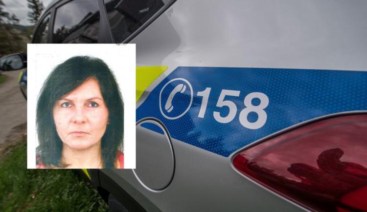 Policie pátrá po ženě z jihu Čech. V sobotu ráno odešla z domova, od té doby je nezvěstná