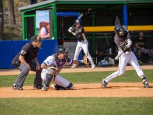 Baseballisté Hluboké si dvakrát poradili s extraligovým mistrem Draci Brno