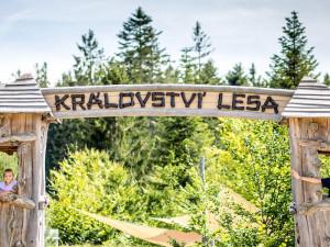 Království lesa – lesní svět plný zážitků nejen pro děti, otvírá v sobotu 1. května
