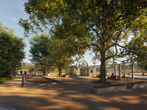 Studie k parku 4 Dvory je hotová. Nová část nabídne větší skatepark, zeleň, ale i prostor pro sport a rekreaci