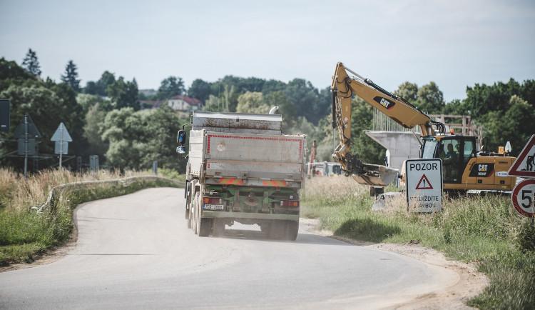 Kraj spustí web, díky kterému bude možné sledovat vývoj dopravních staveb na jihu Čech