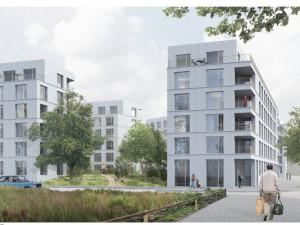 Město zná podobu bytového komplexu ve Čtyřech Dvorech. Stavět by se mohlo za dva roky