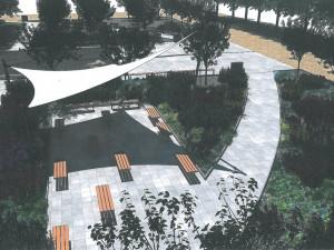 Nové lavičky, zeleň a moderní zavlažování. Město chce proměnit náměstí u KD Vltava