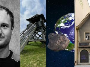 KVĚTEN 2021: Asteroid, rezignace nebo tajemný dům v centru. Co zajímavého vyšlo v květnu na Drbně?
