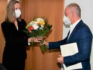 Hejtman Kuba diskutoval s rakouskou velvyslankyní v České republice o výstavbě dálnice D3 i jaderné energetice