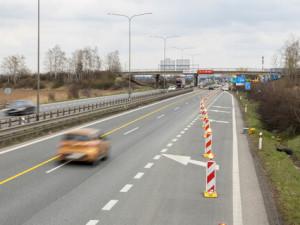 Řidiči v Česku zaviní ročně desítky nehod u prací na dálnicích