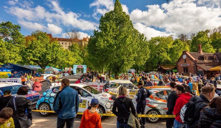 Rallye Český Krumlov se nakonec pojede v listopadu. Centrem zůstane budějcké výstaviště