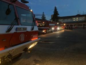 Na pomoc jižní Moravě vyslal dnes ráno kraj dvě desítky hasičů a zásahovou techniku