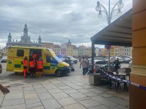 Vyděrač z budějckého náměstí není pro policisty neznámou postavou