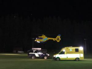 Na bobové dráze na Lipně se zranili dva lidé. Pro ženu letěl vrtulník