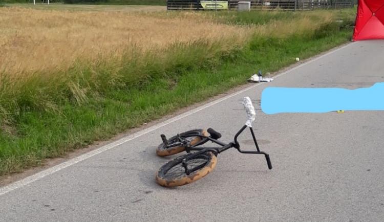 Policie vypátrala řidiče, který smrtelně zranil mladého cyklistu a ujel