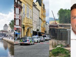 ČERVEN 2021: Nová náplavka, rozhovory a přepadení na budějckém náměstí. Co jsme psali v červnu?