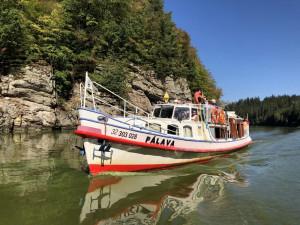 Historické památky i romantická příroda. Lodní linka mezi Hlubokou a Týnem nabízí nový rozměr plavby po Vltavě