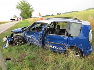 Další tragická nehoda na jihu Čech. Řidiči se nejspíš stalo osudným předjíždění
