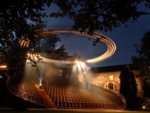 Divadelní spolek Vltavan plánuje v Týně nové otáčivé hlediště