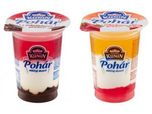 Mléčný dezert Kunín Pohár obsahuje pesticid. Výrobce jej stahuje z prodeje