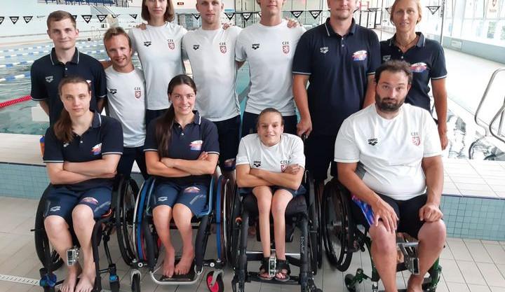 Na paralympiádu se budou plavci připravovat v Budějcích. Chci získat zlatou, hlásí Petráček