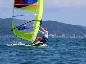 Windsurfer Karel Lavický začíná závodit na olympiádě