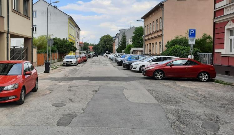 Příští týden začne oprava Šumavské ulice. Práce potrvají téměř pět měsíců