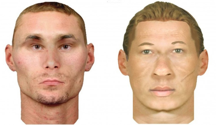 Loupežné přepadení v Budějcích. Policie zveřejnila identikit obou pachatelů