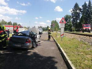 Nehoda u Holubova má tragickou bilanci. Zraněním v nemocnici podlehlo dítě, které jelo ve voze