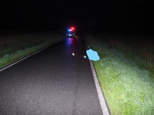 Na Táborsku našli ráno mrtvého cyklistu, příčinu úmrtí určí pitva