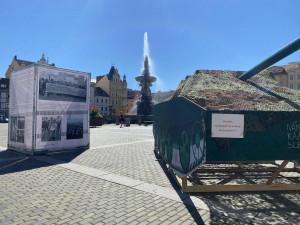 Na náměstí opět zaparkuje maketa sovětského tanku. Připomene výročí srpna 1968