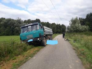 Policie hledá svědky včerejší tragické nehody, při níž zemřela starší cyklistka
