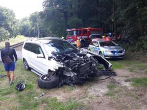 Další nehoda na železnici. U obce Hosín vjelo auto před rozjetý vlak