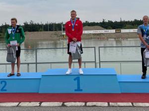 Plavec Zach získal mistrovský titul na 20 kilometrů