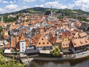 Lipenské hotely byly v létě plné, do Krumlova mířili hlavně Češi