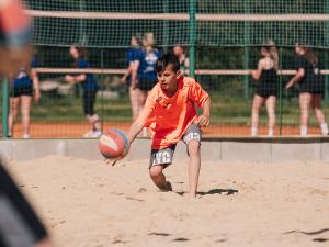 Jihostroj láká zájemce o volejbal. Probíhá nábor nových členů