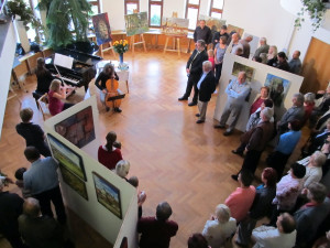 Desátou jubilejní výstavu jihočeských výtvarníků pořádá městys Křemže
